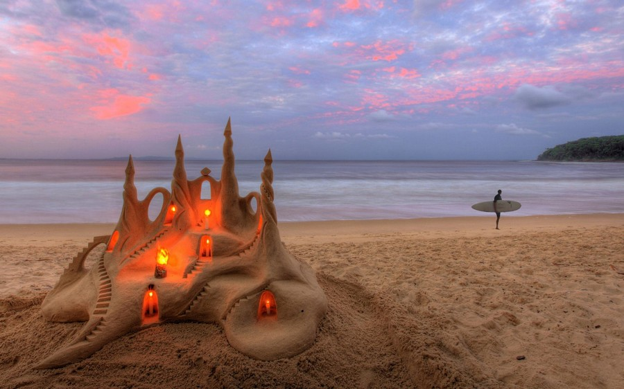 Замок на песке 1