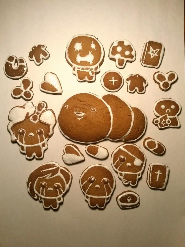 Имбирные печеньки для фанатов Айзека