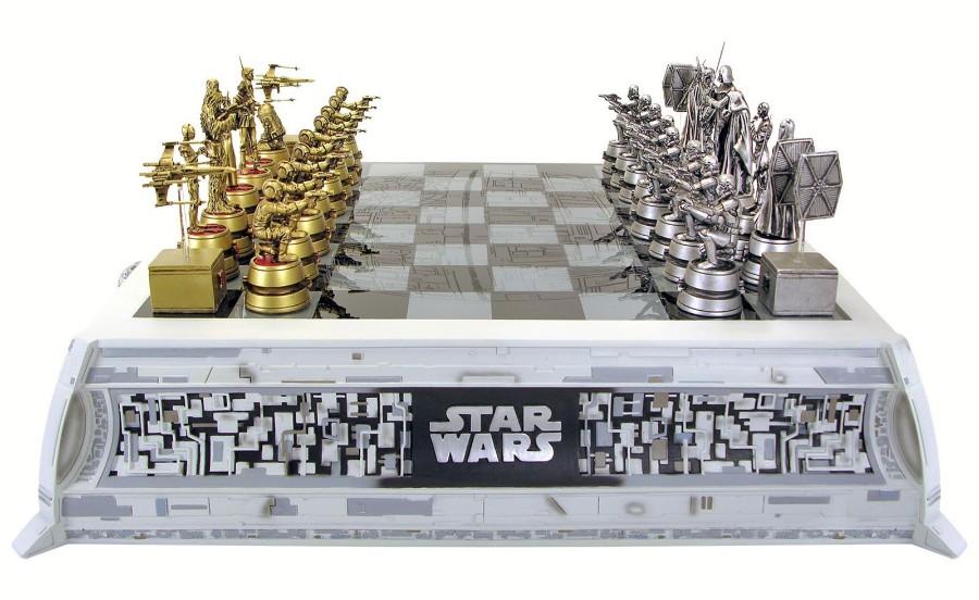 Шахматы фаната Star Wars