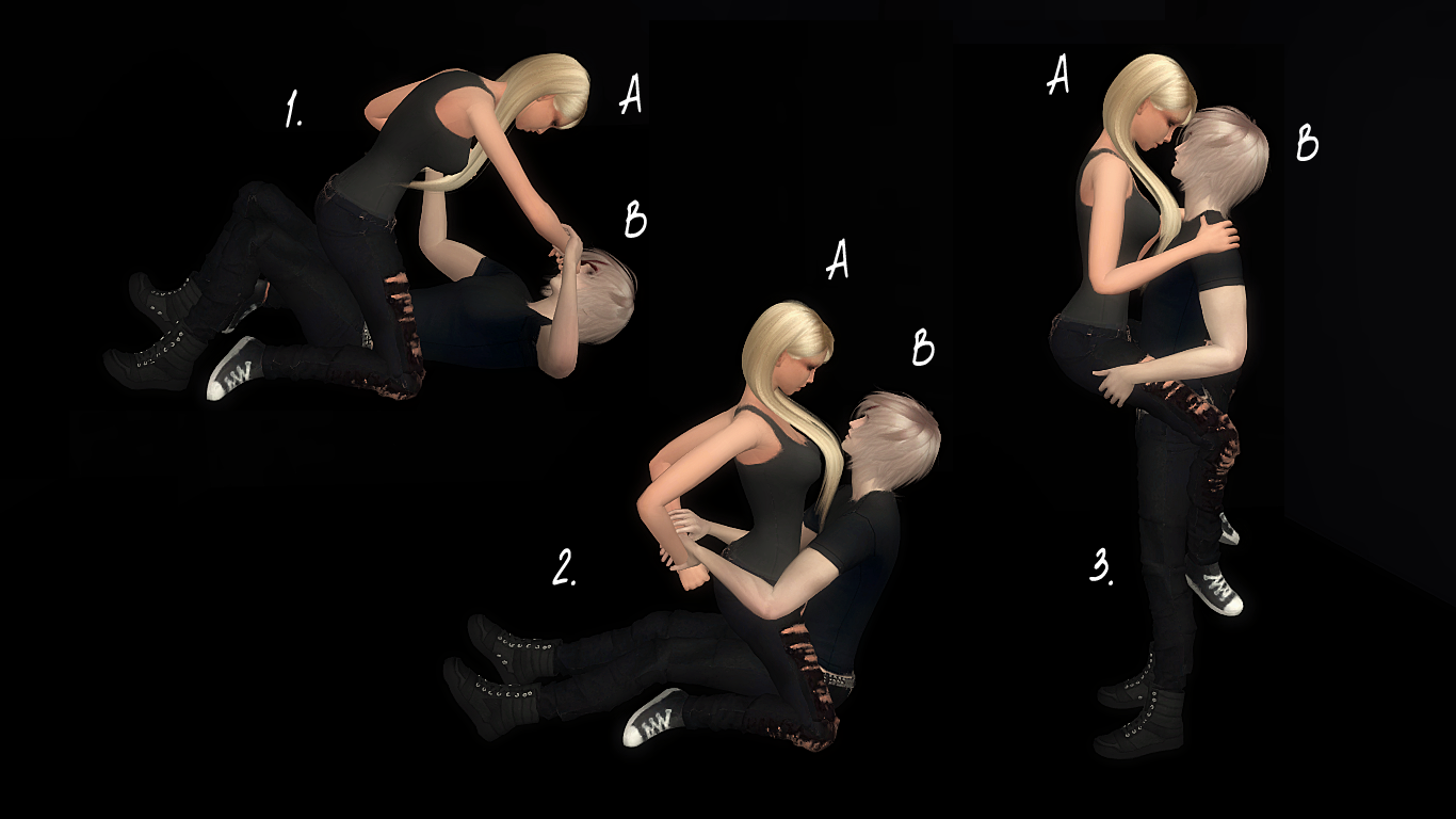sims 4 how to make double pose
