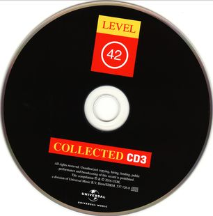 Level 42 - Collected [3CD] (2016)
