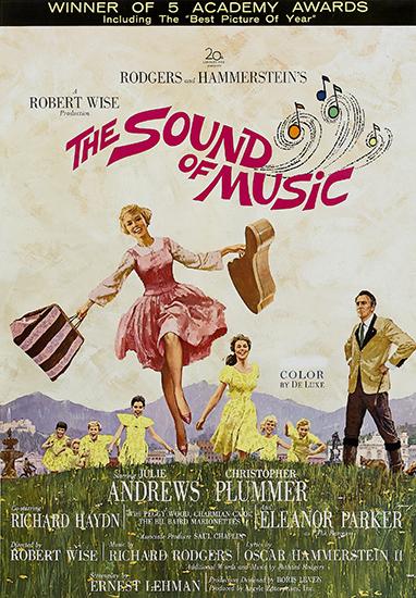 Звуки музыки / The Sound of music (Роберт Уайз / Robert Wise) [1965, США, мюзикл, мелодрама, семейный, биографический, Telesync &gt DVD] [Советская прокатная копия] Dub (Мосфильм) + rus hardsub (на песни)
