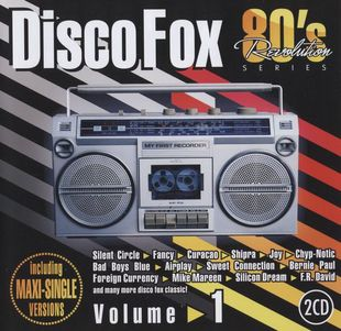 80's Revolution. Disco Fox Volume 1, 2, 3, 4, 5 (2010-2013)