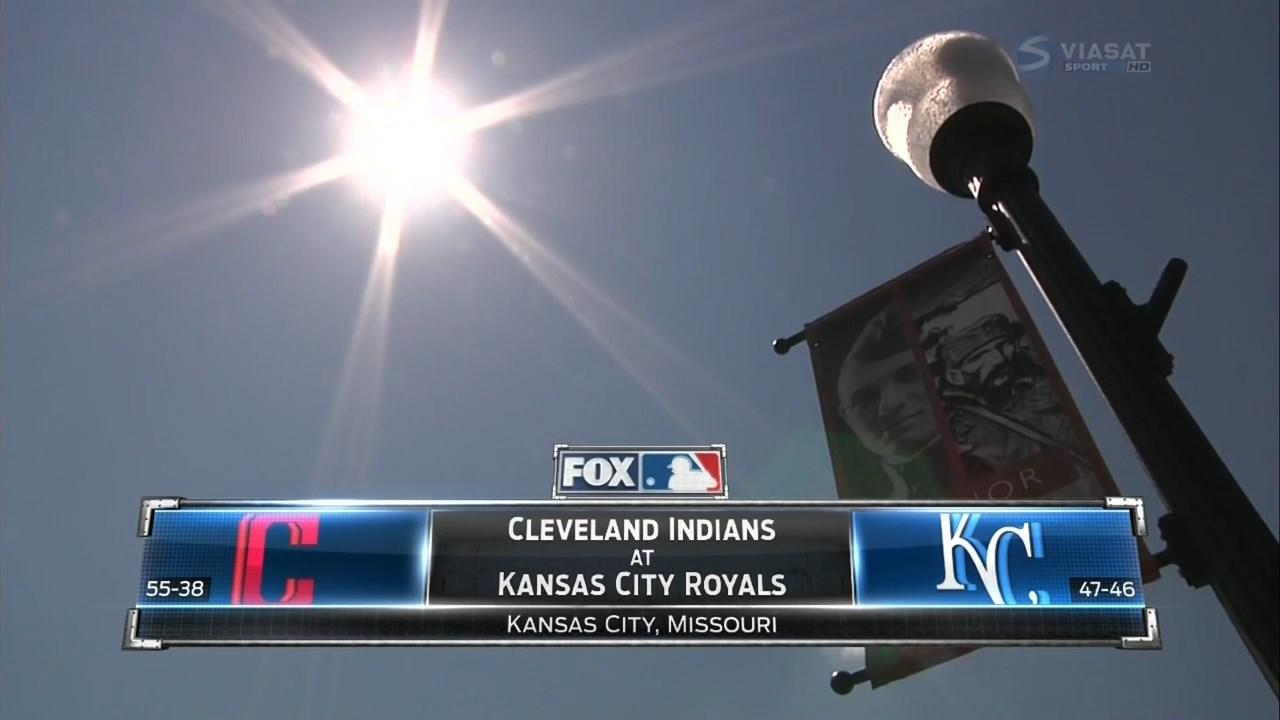MLB 2016 / AL / RS / 20.07.2016 / Cleveland Indians @ Kansas City Royals (3 / 3) [Бейсбол, HD / 720p, MKV / H.264, RU / Viasat Sport]