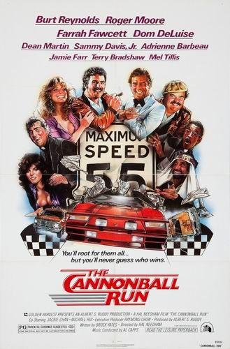 Гонки Пушечное ядро / The Cannonball Run (Хэл Нидэм / Hal Needham) [1981, США, комедия, боевик, приключения,BDRip] DVO + AVO (Михалёв) + MVO (СТС) + MVO + Sub Eng + Original Eng