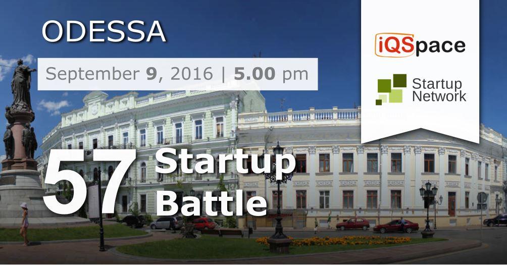 57 Startup Battle, Odessa