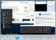 Windows 10 Pro 14901.1 rs2 MICRO by Lopatkin (x86-x64) (2016) Rus