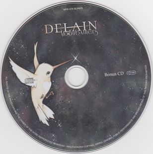 Delain - Moonbathers - Limited Edition [2CD] (2016)