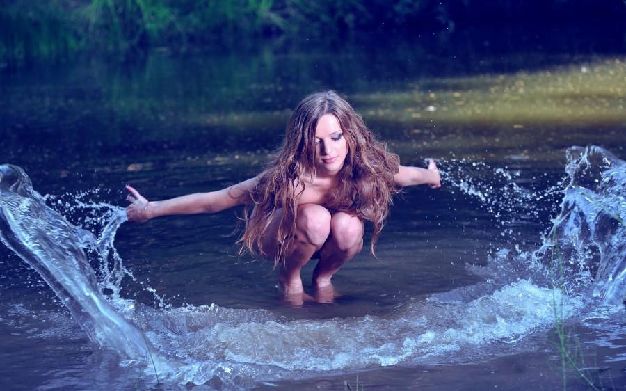 Брызги воды