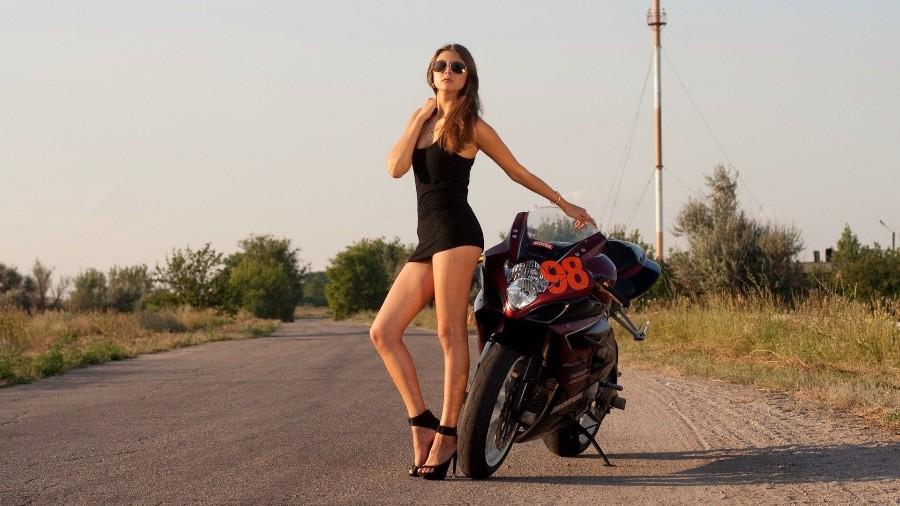 У мотоцикла