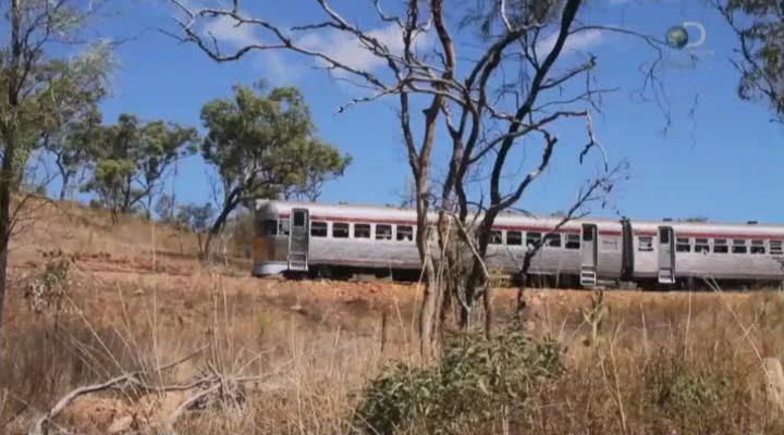 Discovery. Железная дорога Австралии [01-07 серии] | HDTVRip