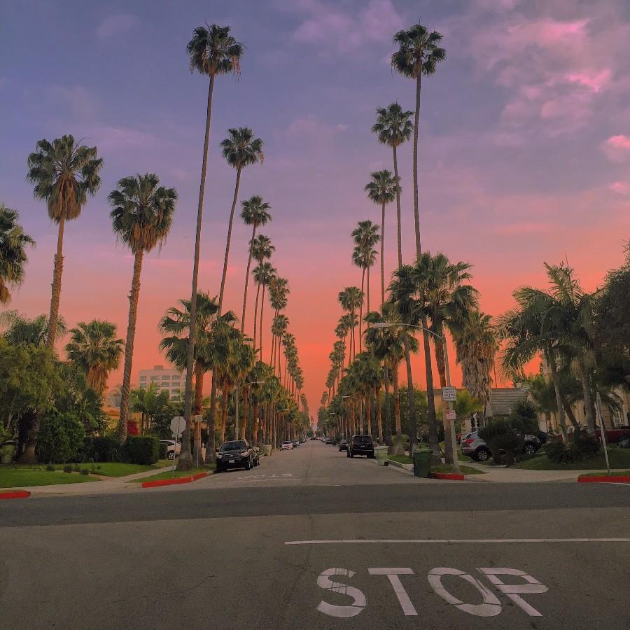 Улочка Лос-Анджелеса