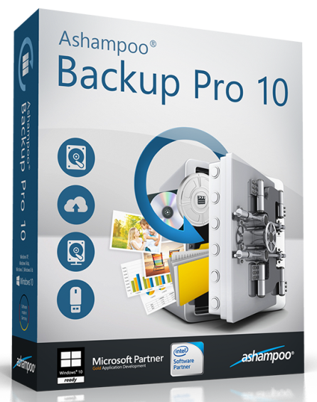 Ashampoo Backup + Pro + Business 10.01 от 21.09.2016 [Multi/Ru]