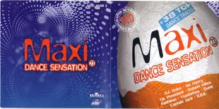 Maxi Dance Sensation - Collection (1990-1997)