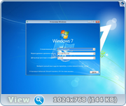 Windows 7 SP1 x86/x64 Ru 9 in 1 Origin-Upd 09.2016 by OVGorskiy® 1DVD (2016) Русский
