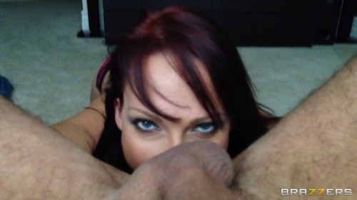 [ZZSeries / PornstarPOV / Brazzers.com] Nicki Hunter (Nicki Hunter, Hungry For Cock / 07-05-2013) [2013, POV, Big Tits, Blowjob, Gonzo, MILF, Redhead, Cowgirl, Doggystyle, Deep Throat, Handjob, 1080p, SiteRip]