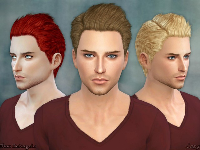 DeAngelo - Conversion Hairstyle by Cazy