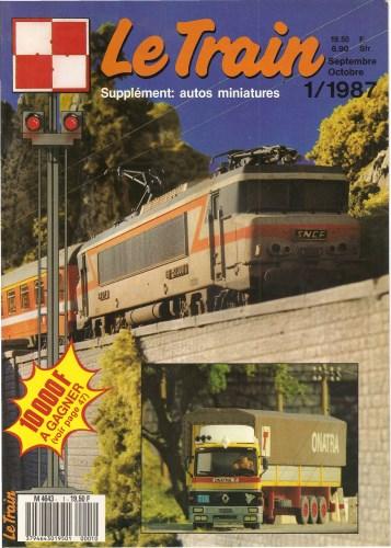 [Железнодорожный моделизм] Le Train - 92 номера + Special + Bonus [1987-2011, PDF, FRA]