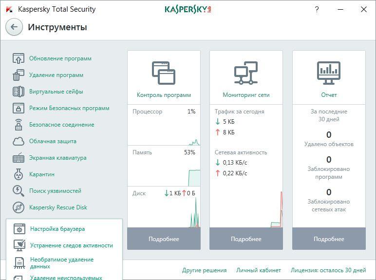 Kaspersky Total Security 2017 17.0.0.611 (b) Final (2016) Русский