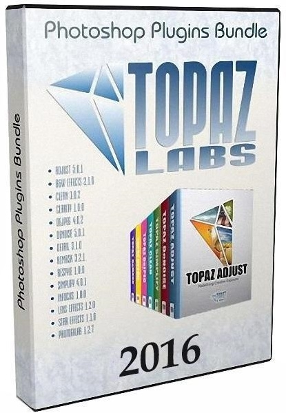 Topaz Labs Photoshop Plugins Bundle 2016 (19.11.2016) RePack by D!akov