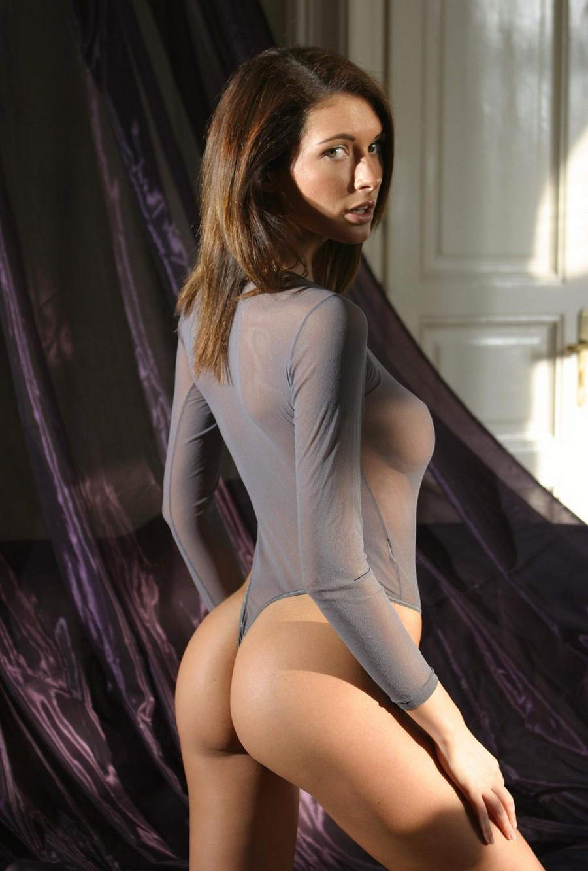 Sexy naked girls wear thongs — 5