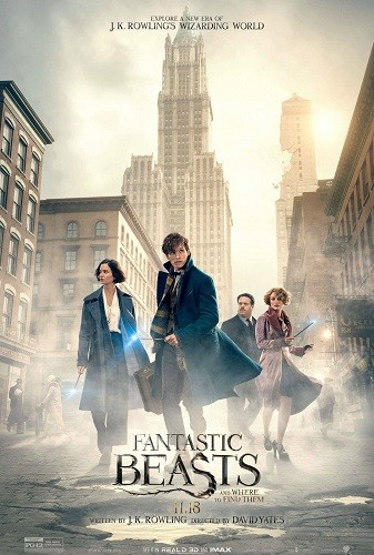 Fantastic Beasts and Where to Find Them 2016 1080p HC HDRip X264 AC3-EVO