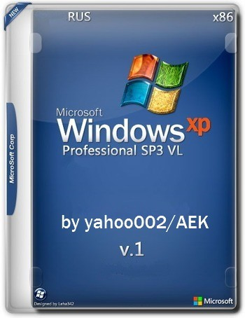 Microsoft Windows® XP Professional SP3 VL 'Retro' v1 [Ru] by yahoo002/AEK