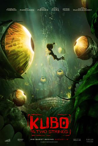 Кубо. Легенда о самурае / Kubo and the Two Strings (Трэвис Найт / Travis Knight) [2016, США, Мультипликация, BDRip 1080p] Dub (iTunes) + Rus Sub