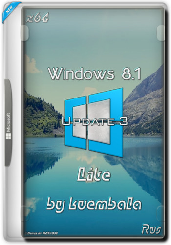 Windows 8.1 Update 3 x64 Lite 1.0 by Den (kuembala) (x64) (Rus) [16/12/2016]