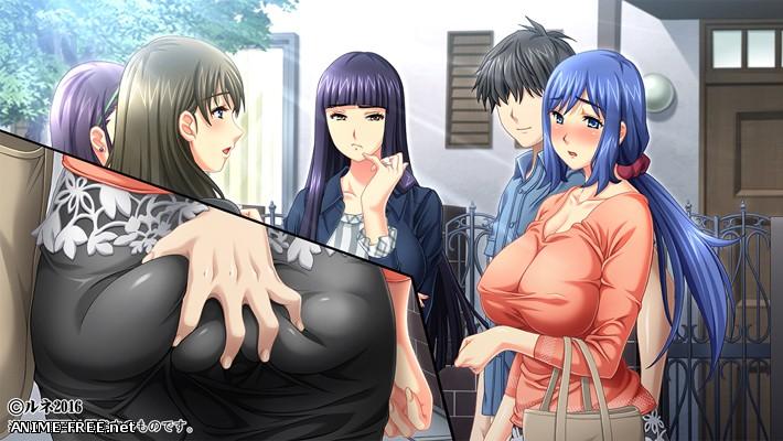 """Kyonyuu Daikazoku Saimin """"Kazoku Minna de Iki Makuru Sex ga Yamerarenainoo"""" [2016] [Cen] [VN] [JAP] H-Game"""