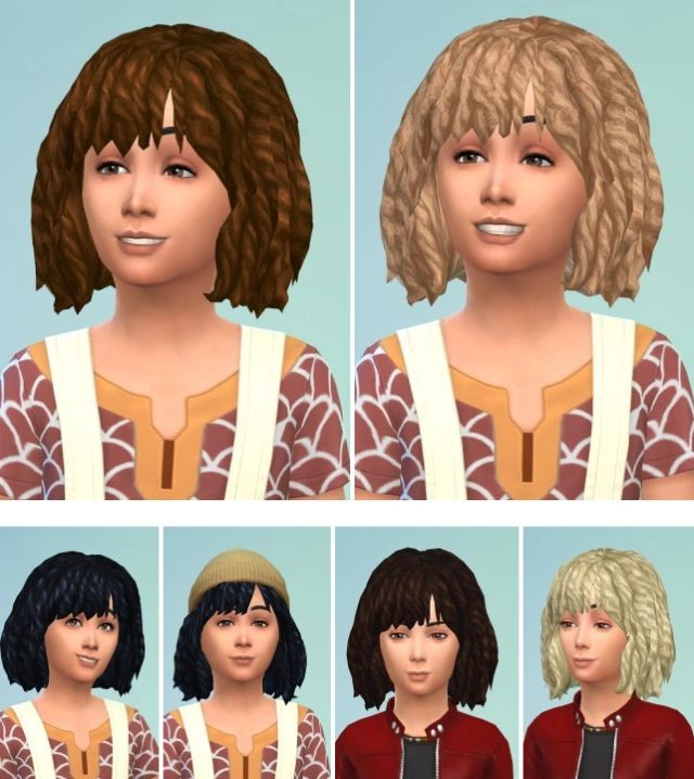 Hairstyles for kids sims 4
