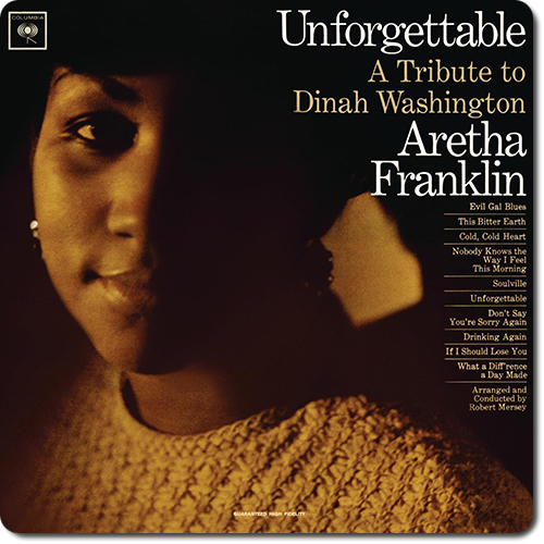 [TR24][OF] Aretha Franklin - Unforgettable: A Tribute To Dinah Washington - 1964/2011 (Soul, R&B)