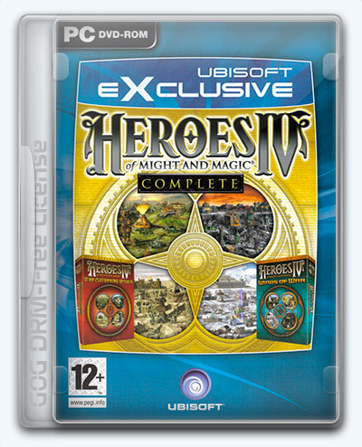 Heroes of Might and Magic IV: Complete (2004) [Multi] (3.0.0.2) License GOG