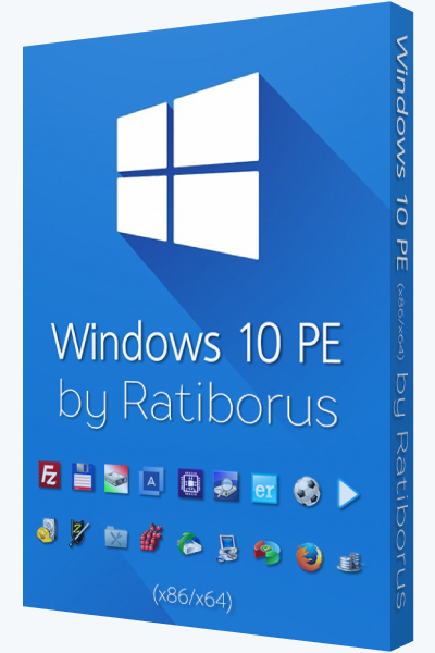 Windows 10 PE v.5.0.4 by Ratiborus (x86-x64) (2017) [Rus]