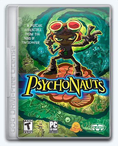 Psychonauts (2005) [Multi] (1.1.603.0) License GOG