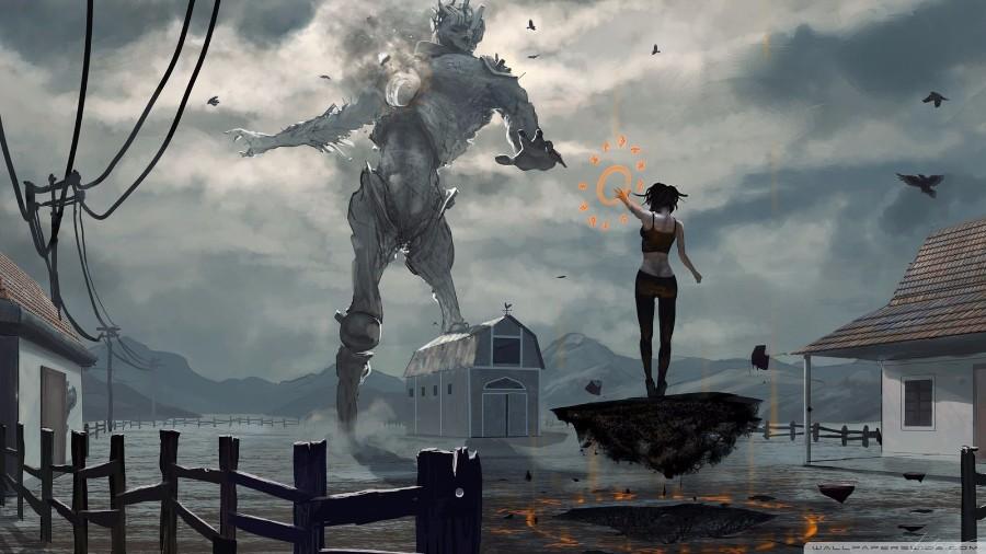 Битва с титаном
