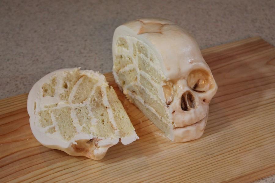 Тортик череп