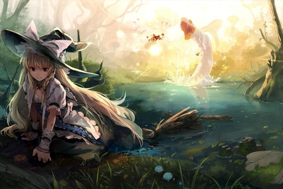 Волшебница в озере