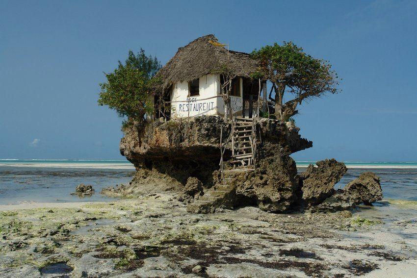 Домик на островке
