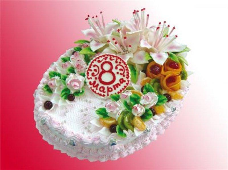 Какой торт подарить на 8 Марта
