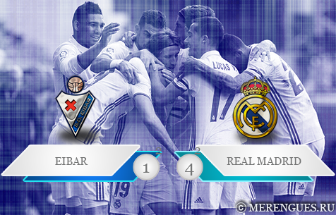 SD Eibar - Real Madrid C.F. 1:4