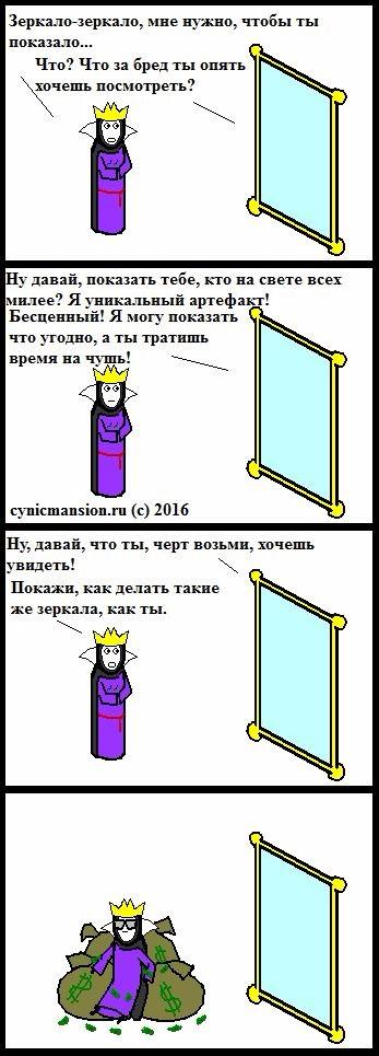 Как делать зеркала