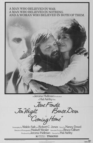 Возвращение домой / Coming Home (Хэл Эшби / Hal Ashby) [1978, США, драма, мелодрама, военный, HDRip] DVO (НТВ+) + MVO (Пятый канал) + Sub Rus, Eng + Original Eng