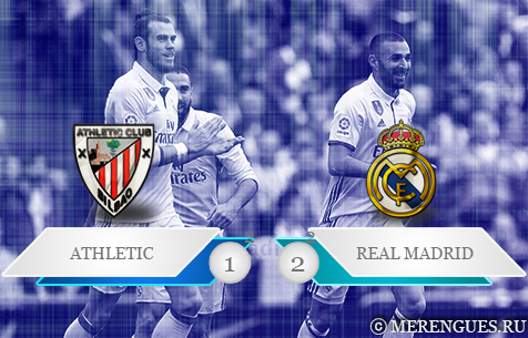 Athletic Club de Bilbao - Real Madrid C.F. 1:2