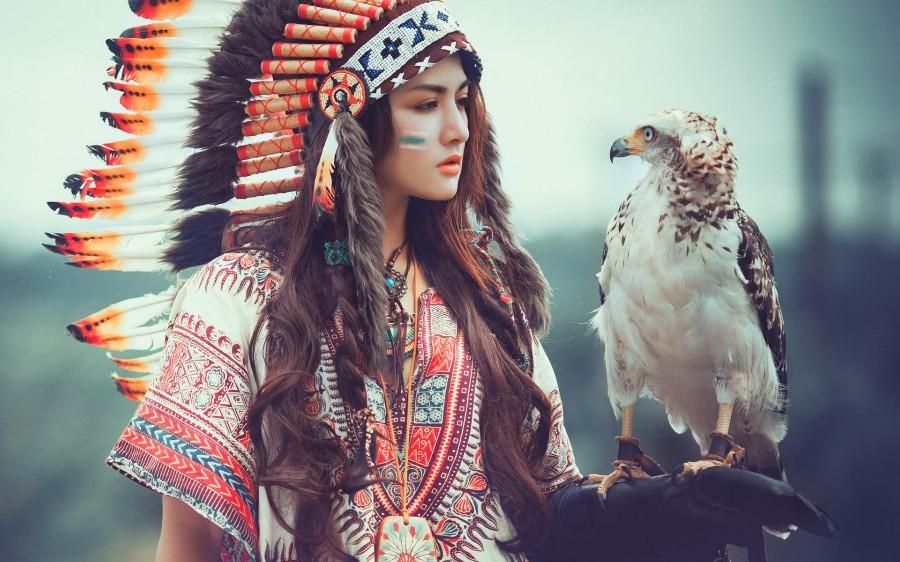 Дочь вождя племени