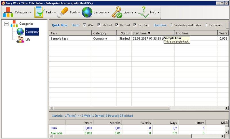 Скачать Easy Work Time Calculator 6 0 Build 052 torrent