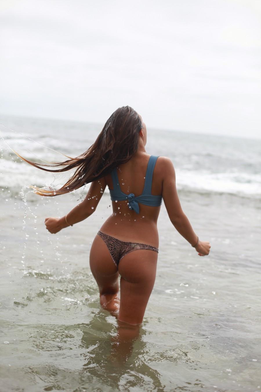 Заходим в море