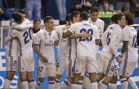 """В матче против """"Депортиво"""" игроки """"Мадрида"""" преодолели наибольшее расстояние в сезоне"""