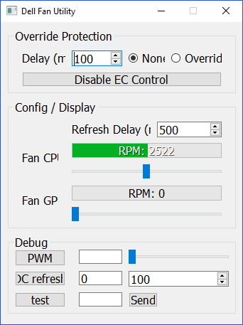 Guide] How to control fans on Dell Laptops under Windows