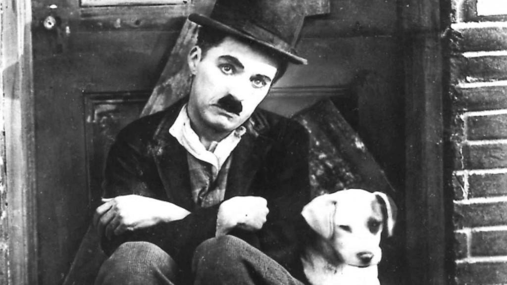 Чарли с собакой